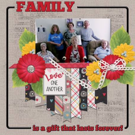 Family is a gift thats lasts forever!