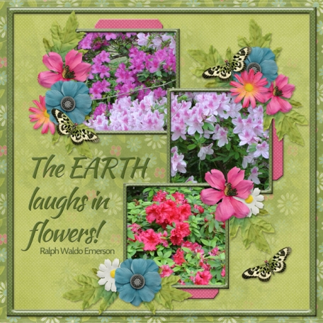 The EARTH laughs in flowers! (sher)