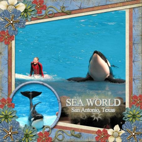 Sea World San Antonio, Texas