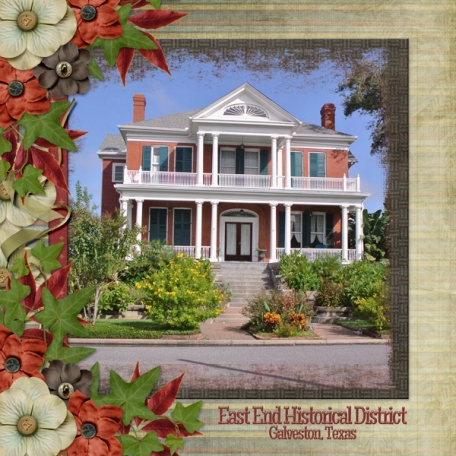 East End Historical District - Galveston, Texas (sher)