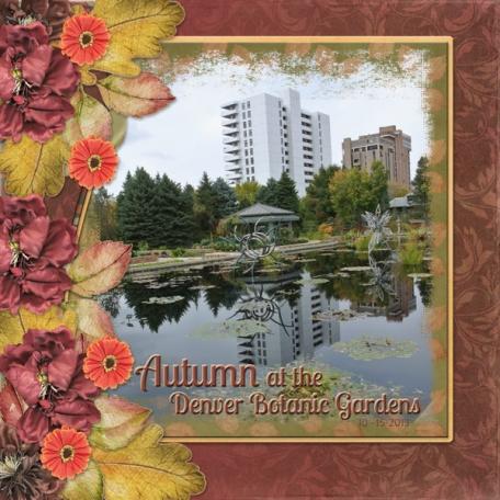 Autumn in the Denver Botanic Gardens (sher)