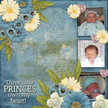 Three Little Princes own my heart! (dfdd)