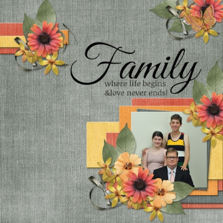 Family where life begins and love never ends! (ADS2)