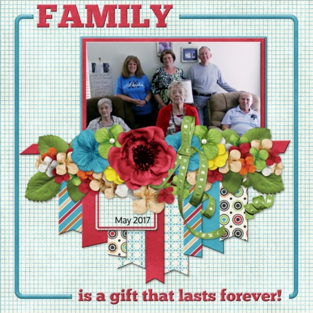 Family is the gift that lasts forever!