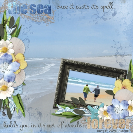 the sea once it casts its spell ... (dfdd)