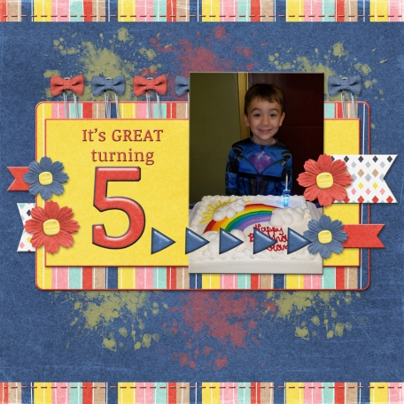 It's great turning 5! (jcd)