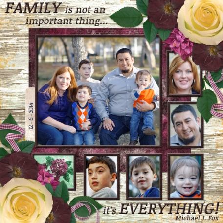 Family is not an important thing ... it's EVERYTHING (DFDD)
