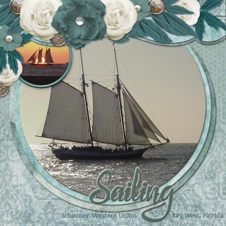 Sailing - Schooner Western Union, Key West, Florida