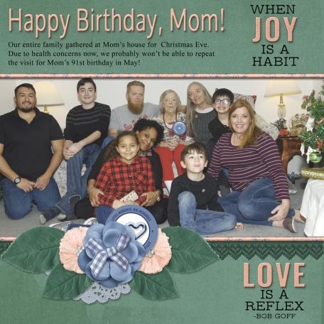 Happy Birthday, Mom!  (MLerin)