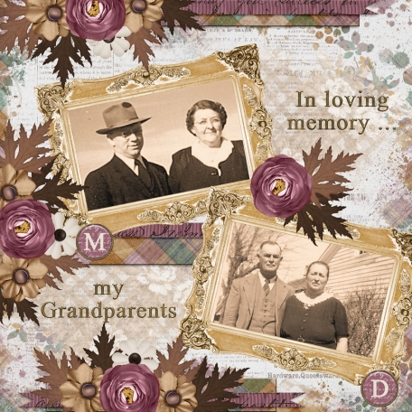 In loving memory ... my Grandparents  (JDunn)