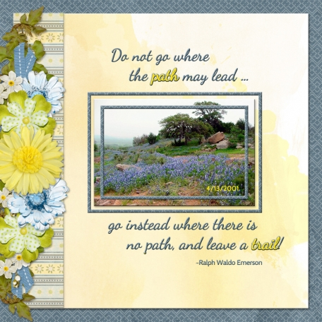 Do not go where the path may lead (ADB)
