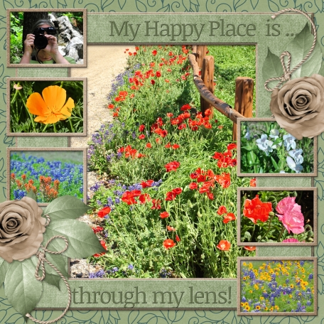 My Happy Place is ... through my lens! (WD)
