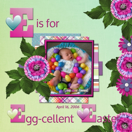 E is for E-ggcelent E-aster (RMartin+)