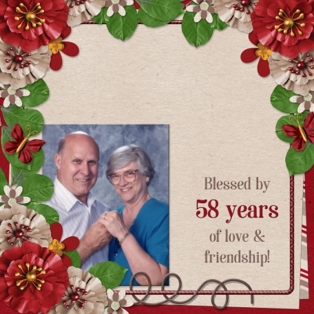 Blessed by  58 years of love and friendship! (gjones)