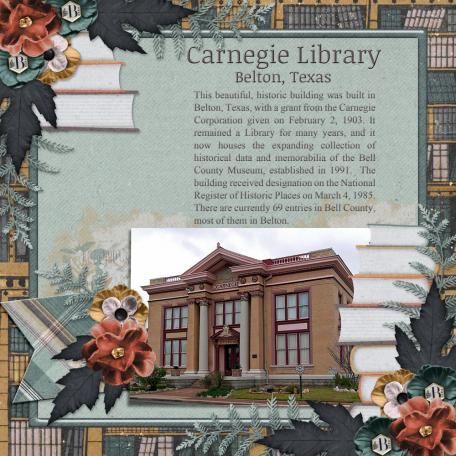 Carnegie Library - Belton, Texas (JDunn)