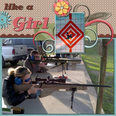 Shoot Like A Girl - RIGHT SIDE
