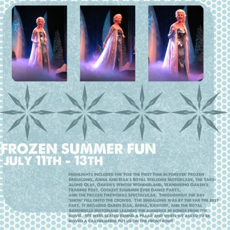 Frozen Summer Fun Festival at Hollywood Studios, page 1