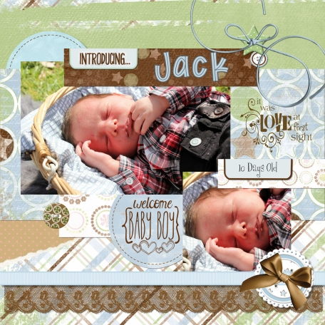 Welcome my grandson Jack