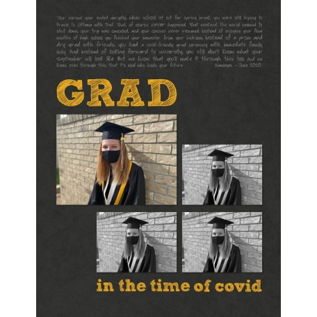 Grad in the time of Covid