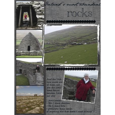 Ireland, rocks