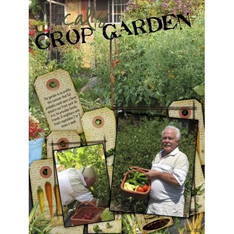 Crop garden