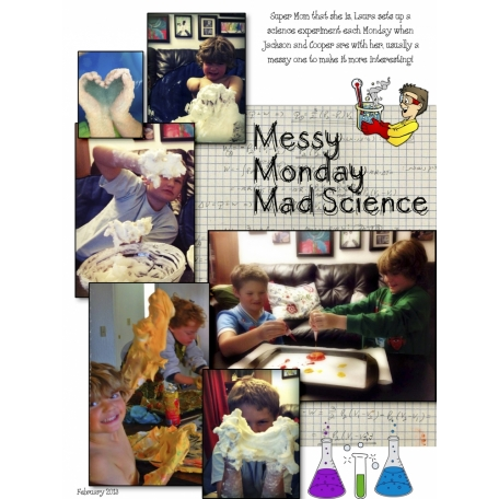 Messy Monday Mad Science