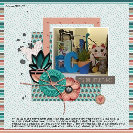 October Challenge 2020: Sept Kits - The Small Things