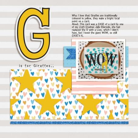 Album Challenge - G is for Giraffe!