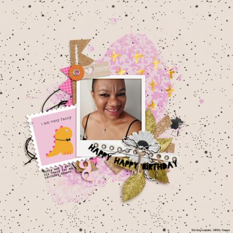 Marisa Lerin - October 2021 - Collage - Happy Happy Birthday