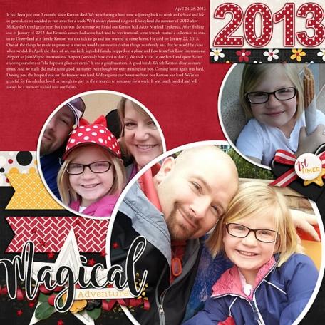 Our Disney Adventure 2013