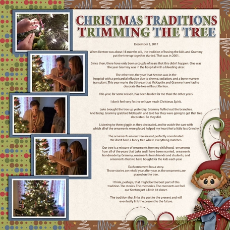 Christmas Traditions - Trimming Tree