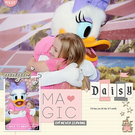 January 2017- Meeting Daisy at Epcot