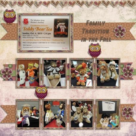 20th annual Teddy Bear Tea