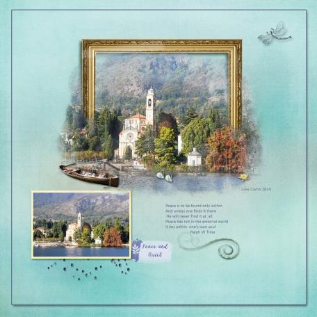 Lake Como Peaceful Place