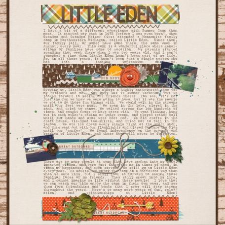 Little Eden   Letters Home