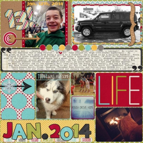 McGregor January 2014 Page 1