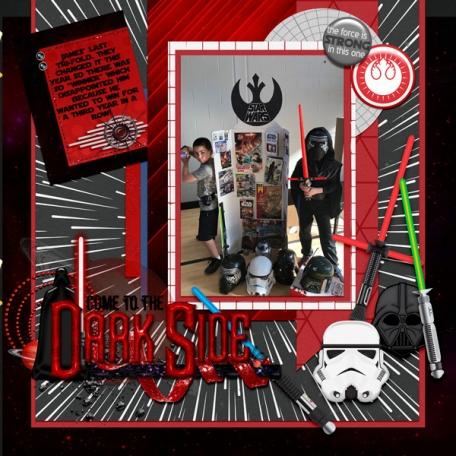 Star Wars Tri-fold