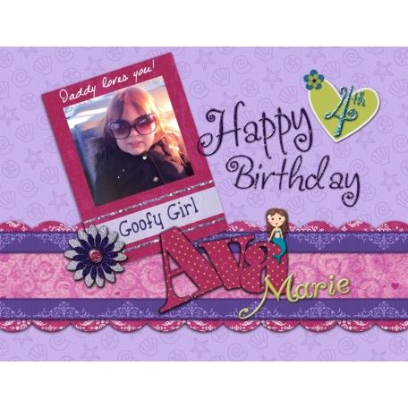 Happy 4th Birthday Ava