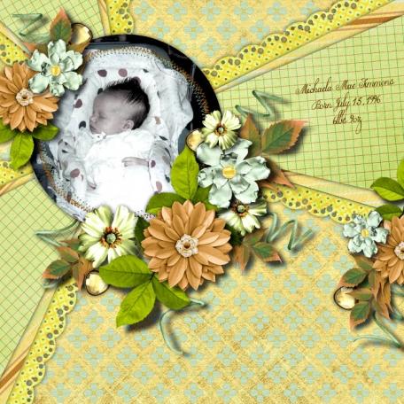Newborn Michaela