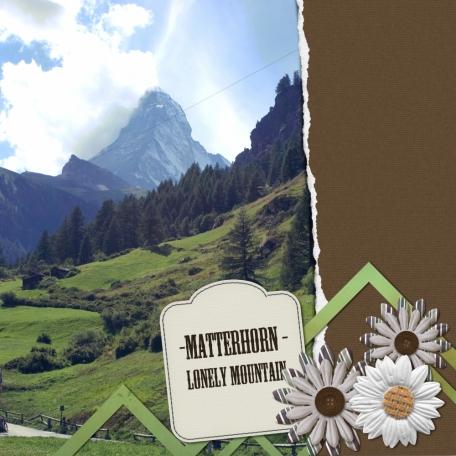 Nature - Matterhorn
