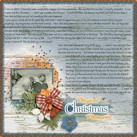 Magical Christmas Memories