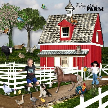 A Day at the Farm with Brennon