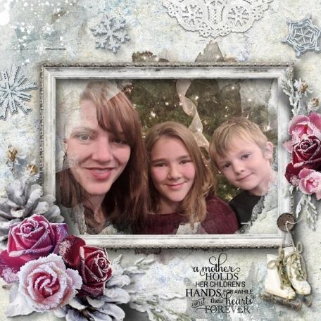 Snowlicious Brandy, Alaina and Brennon