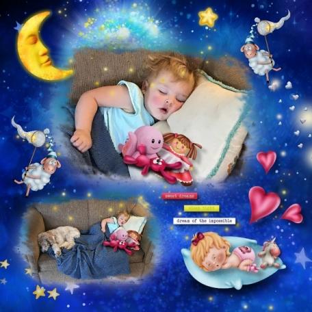 Baby story Maya Sleeping