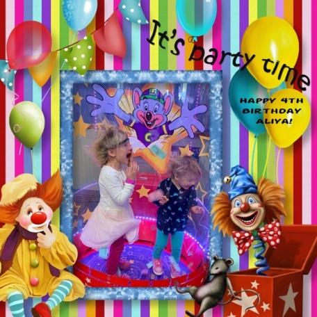 Circus Walk Birthday Party