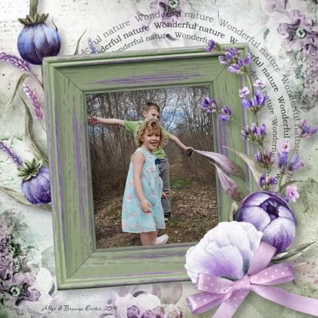 Lavender Easter