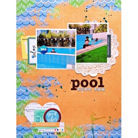 Pool side fun!