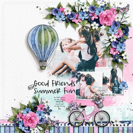 good friends and summer fun