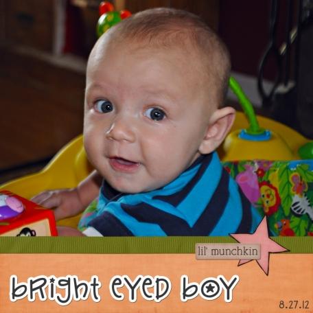 bright eyed boy