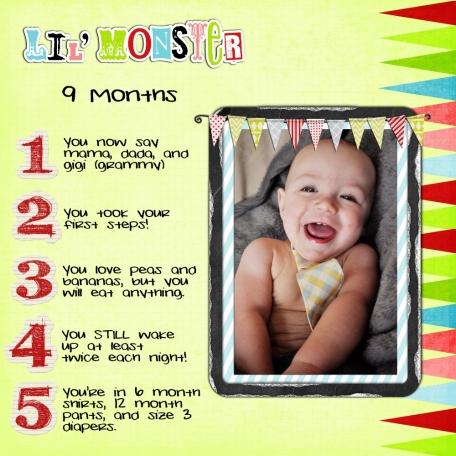 Aiden 9 Months